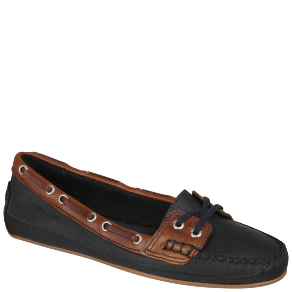 Sebago Women's Bala Moccasin Boat Shoes - Navy