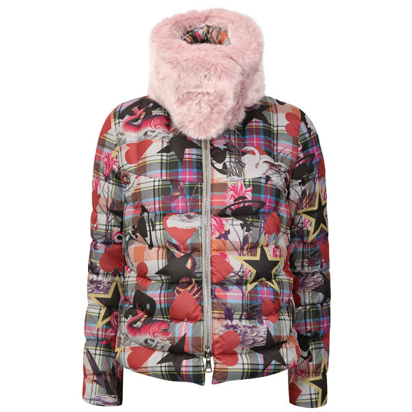 Vivienne Westwood Anglomania Women's Reservation Puffer Jacket - Sea Monster On Grey
