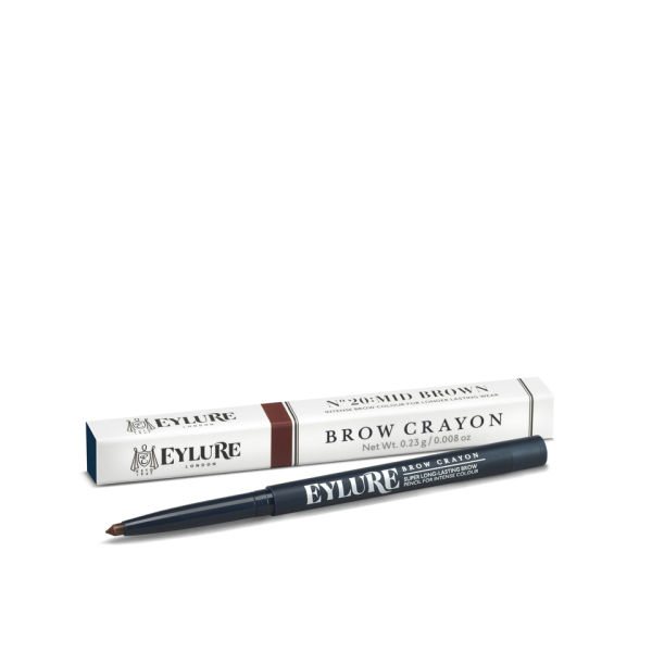 Eylure Defining and Shading Brow Crayon - Marrón medio