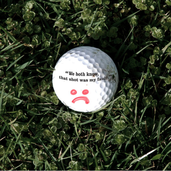 Self Deprecating Golf Balls Gifts   TheHut.com