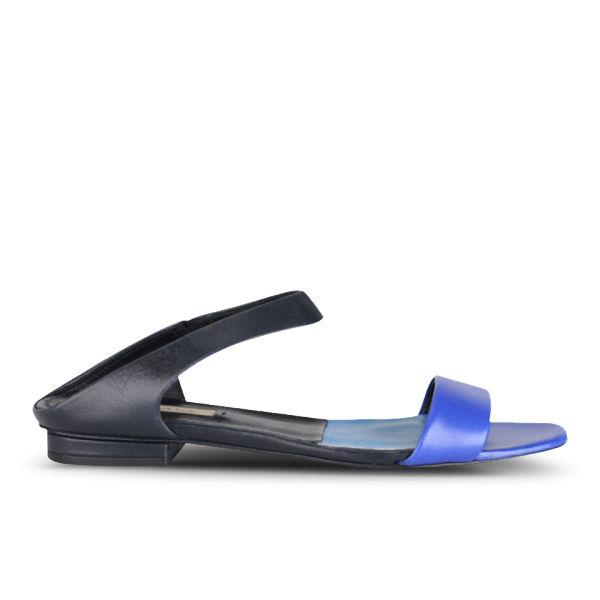 Paul Smith Shoes Women's Amara Leather Sandals - Cobalt/Navy
