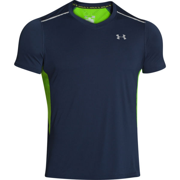 Under armour men 39 s armourvent run short sleeved top for Academy under armour shirts