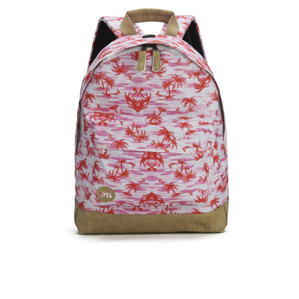 Mi-Pac x Nyx Deyn Women's Pink Palms Backpack - Pink
