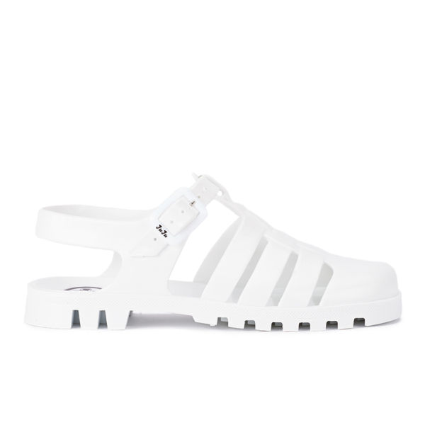 19bffcab5e4e JuJu Women s Maxi Jelly Sandals - White  Image 1