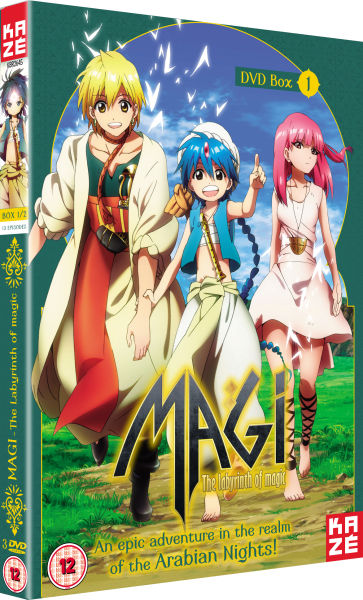 Magi: The Labyrinth of Magic - Season 1: Part 1