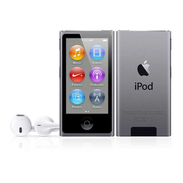 Apple ipod nano 16gb 7th gen space grey electronics - Nano homes small spaces for big sensations ...