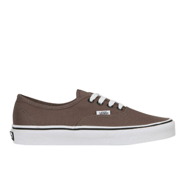 Vans Authentic Canvas Trainers - Pewter/Black
