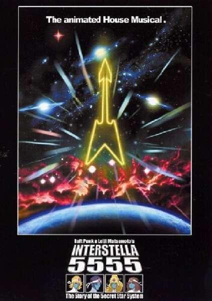 Daft Punk Daft Punk Interstellar 5555 Blu Ray Zavvi