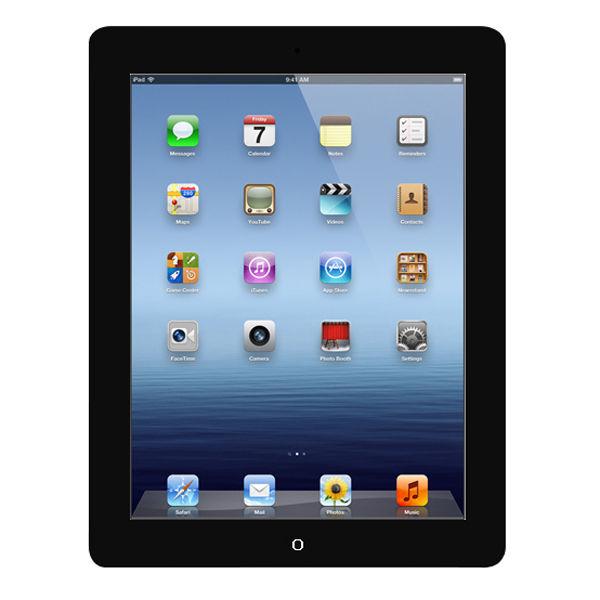 Apple New Ipad 4th Generation 16gb Wi Fi Tablet In Black