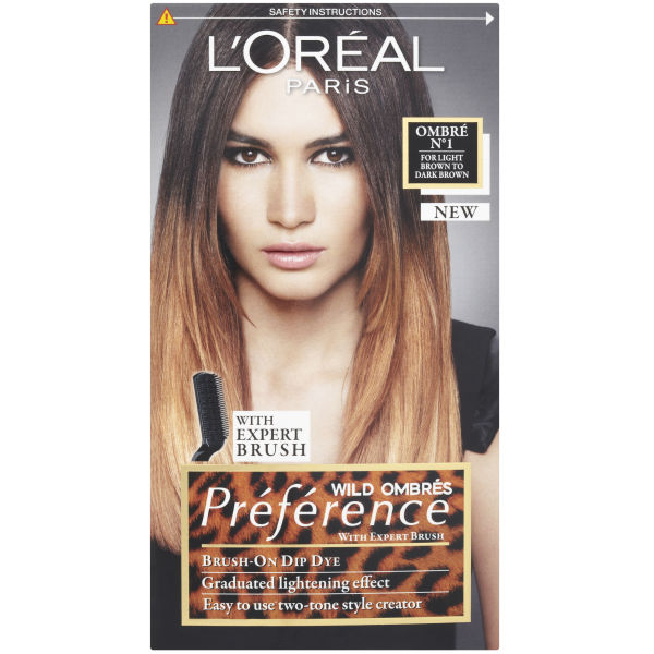L Oreal Paris Wild Ombr 233 S Pr 233 Ference Brush On Dip Dye No1