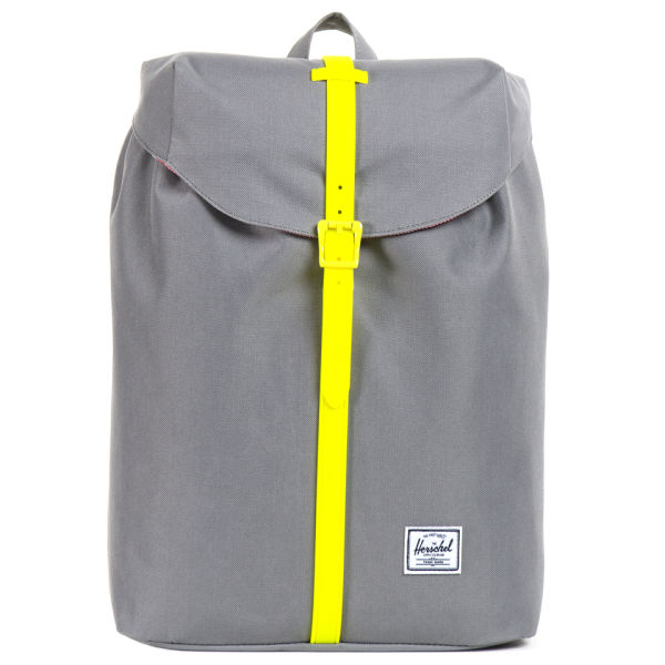 fb569f88270 Herschel Supply Co. Post Mid Volume Backpack - Grey Yellow Rubber  Image 1