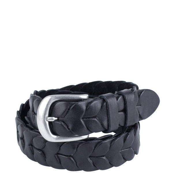 Markberg Michelle Leather Belt - Black