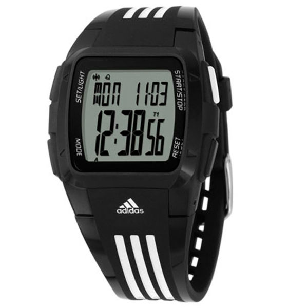 adidas Duramo Watch - Black White  Image 1 63e342696b