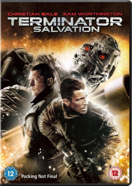 Terminator Salvation Dvd Zavvi