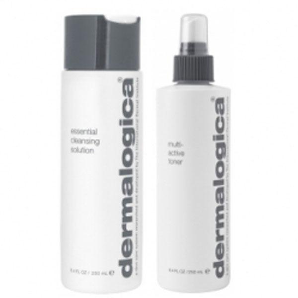 Dúo Cleanse & Tone de Dermalogica - piel seca