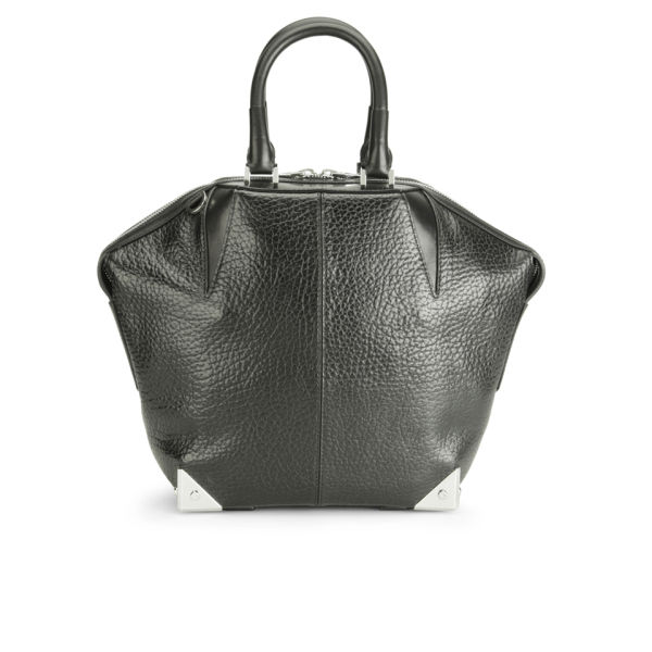 Alexander Wang SM Emile Hardware Wing Leather Tote Bag - Black