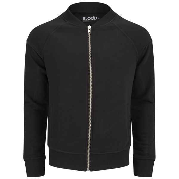 Blood Brother Men's Compact Panel Bomber - Black