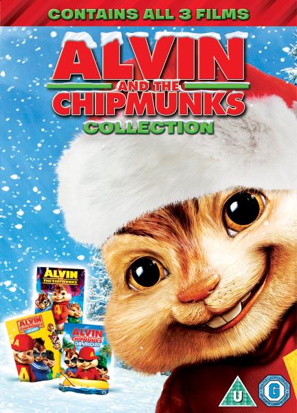 Alvin Christmas Collection 1 3 Dvd Zavvi