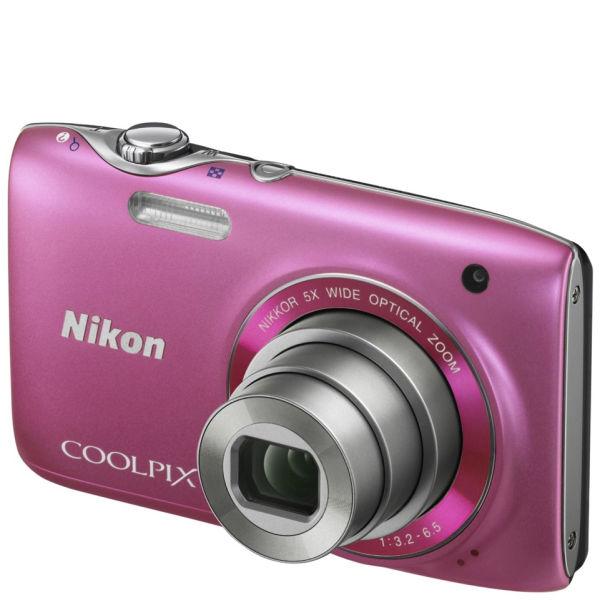 Nikon Coolpix S3100 Compact Digital Camera Pink 14mp