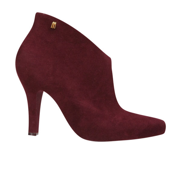 Melissa Women's Drama Heeled Ankle Boots - Plum Flock