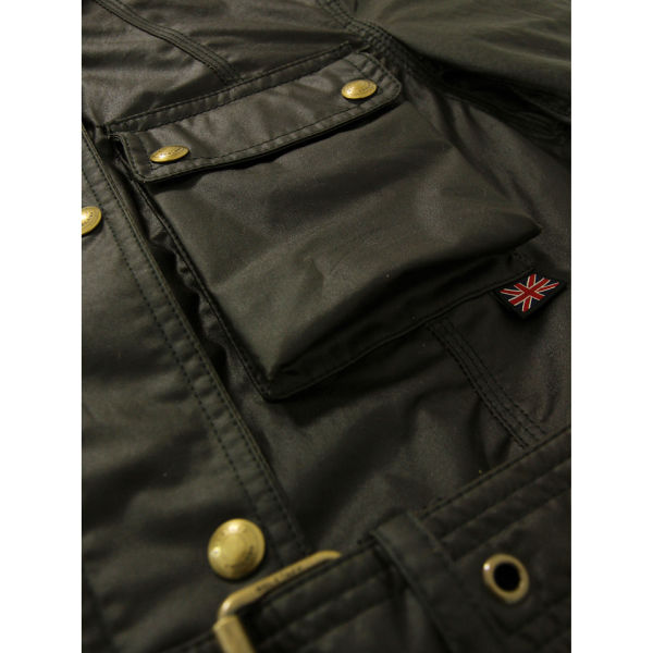 Belstaff Roadmaster Military Green Jacket