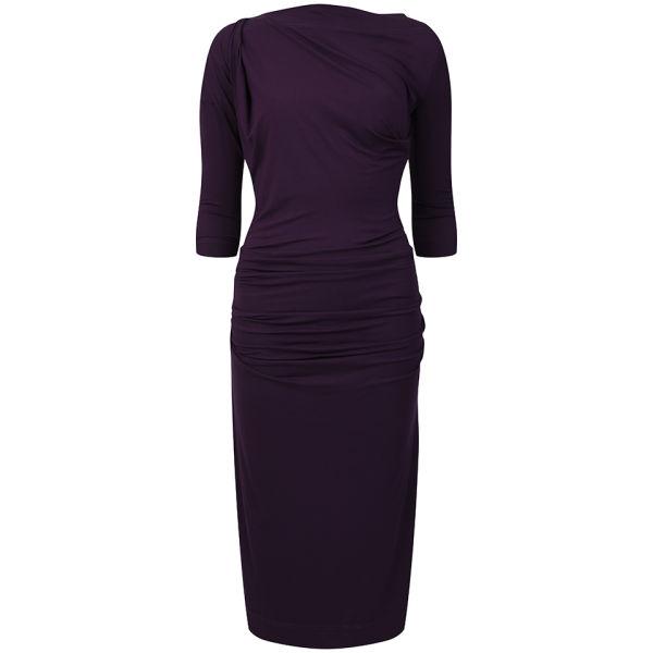 Vivienne Westwood Anglomania Women's 3/4 Shaman Dress - Purple