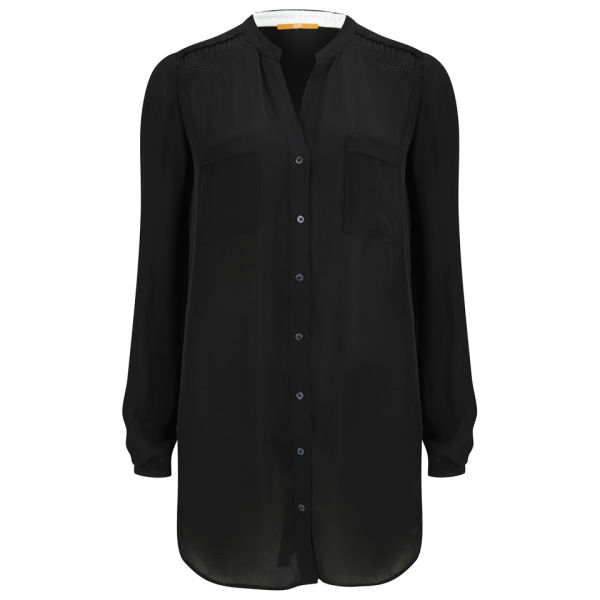 BOSS Orange Women's Ejustere Blouse - Black