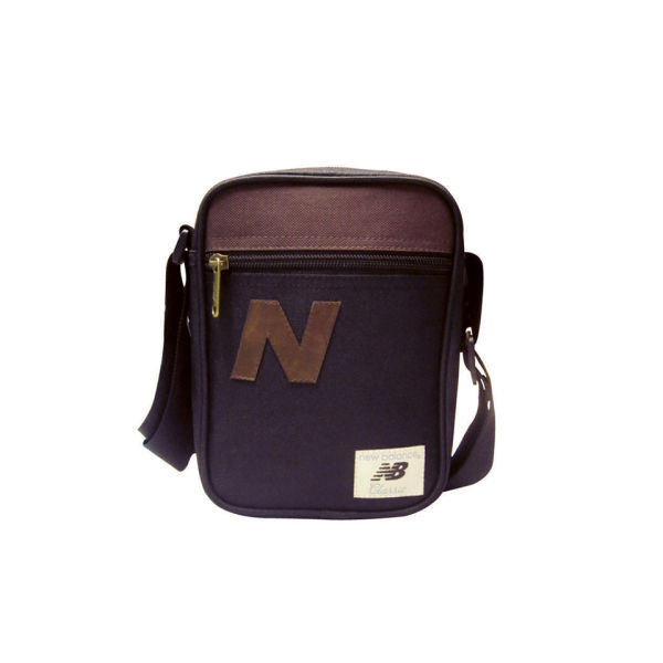 New Balance Men's Chill Small Cross Body Bag - Black/Brown: Image 1
