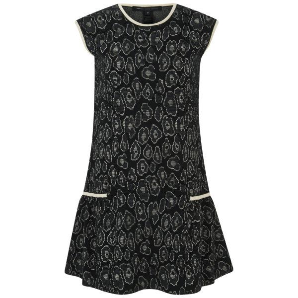 Marc by Marc Jacobs Women's Animal Print Jacquard Dress - Black Multi