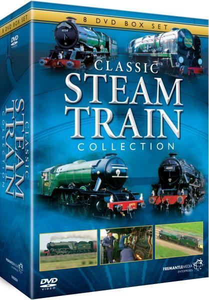 Locomotives For Sale >> Classic Steam Train Collection DVD - Zavvi UK