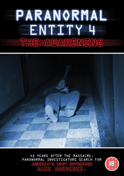 Paranormal Entity 4 The Awakening Dvd Zavvi Com