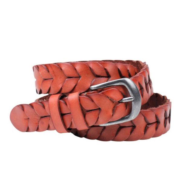 Markberg Michelle Leather Belt - Dark Brown