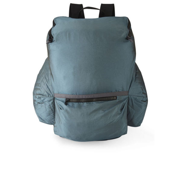 Christopher Raeburn Quilt Packaway Rucksack - Ice Blue