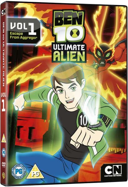 Ben 10 Ultimate Alien Volume 1 Dvd Zavvi