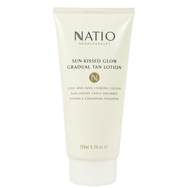 Natio Sun-Kissed Glow Gradual Tan Lotion (7.4oz)