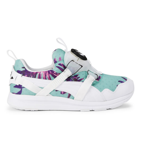 Puma Women's Disc Tropicalia Trainers - White