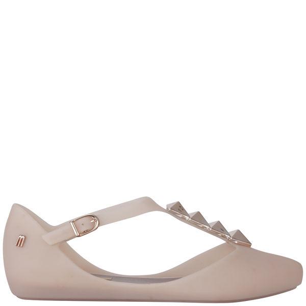 Melissa Women's Doris Arrow Pointed Toe Flats - Blush