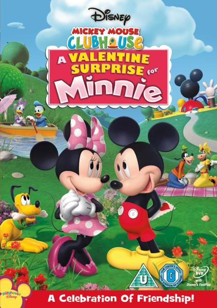 Mickey Mouse Clubhouse A Valentine Surprise For Minnie