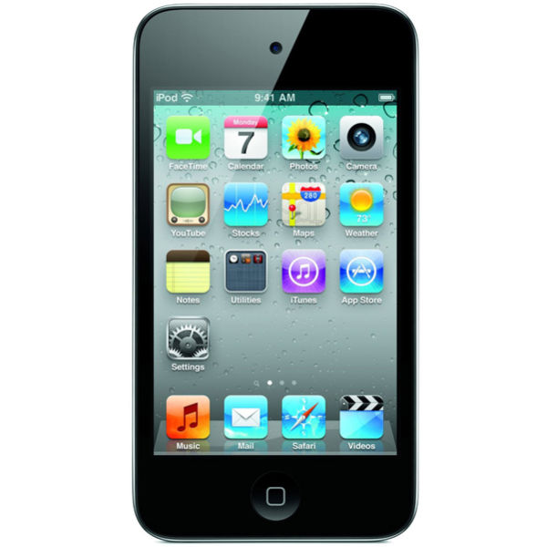 Apple iPod touch 4th Gen 16GB Black Electronics | Zavvi.com