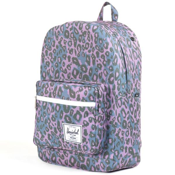 1e2b725dd8 Herschel Supply Co. Pop Quiz Backpack - Purple Leopard  Image 1