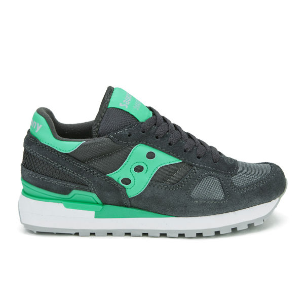 Saucony Women's Shadow Original Trainers - Charcoal/Teal