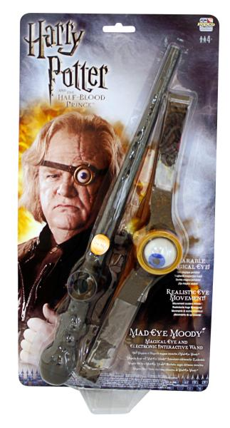 Harry Potter Mad Eye Moody Eye And Interactive Wand Set