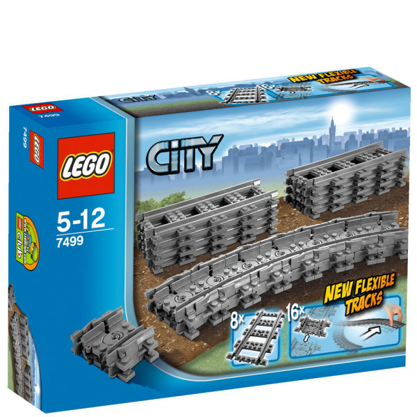 LEGO City: Flexible Tracks (7499)