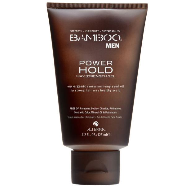 Alterna Bamboo Men Power Hold Gel - für einen maximalen Halt