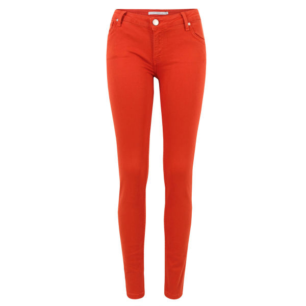 Victoria Beckham Women's VB41 Carnation Power Skinny Jeans - Red