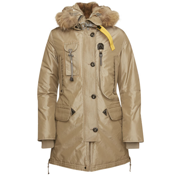 Parajumpers Women's Kodiak Parka Coat - Cappuccino