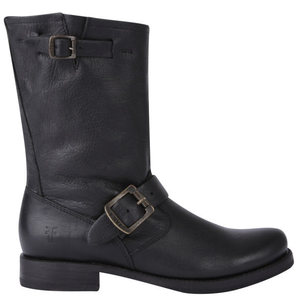 Frye Women's Veronica Shorty Leather Boots - Black