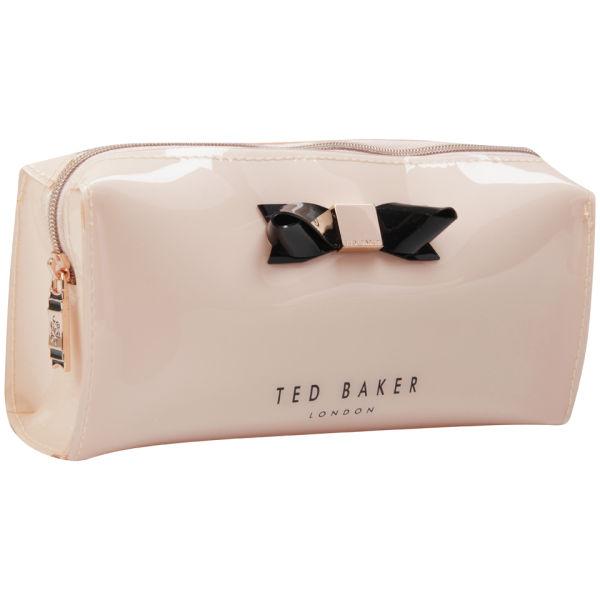 81a3a5dc3278 Ted Baker Jakko Bow Make Up Case Light Pink Image 2
