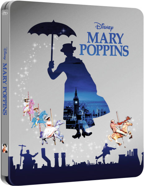 Mary Poppins - Zavvi Exclusive Limited Edition Steelbook (Disney Collectie #15)