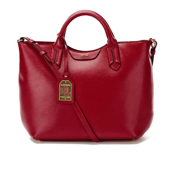 Lauren Ralph Lauren Women s Tate Convertible Tote Bag - Red  Image 1 15792800f7